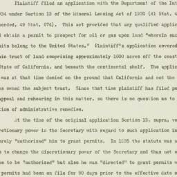Memorandum : 1951 March 16