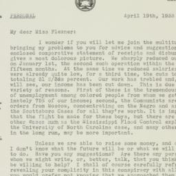 Letter : 1933 April 19