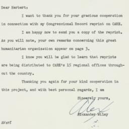 Letter : 1956 February 17