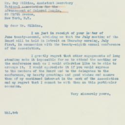 Letter : 1937 June 25
