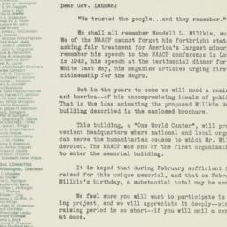 Letter : 1945 February 13