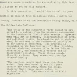 Letter : 1949 October 31