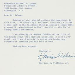 Letter : 1960 April 14