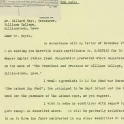 Letter : 1925 December 11