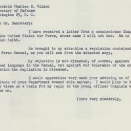 Letter : 1955 June 2