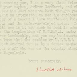 Letter : 1952 June 19