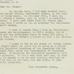 Letter : 1947 December 8