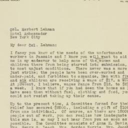 Letter : 1926 March 19
