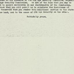 Letter : 1929 April 29
