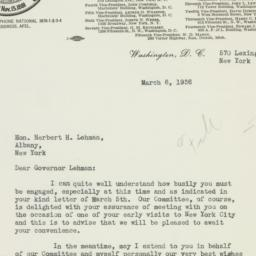 Letter : 1936 March 6