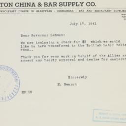 Letter : 1941 July 17