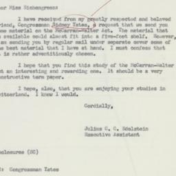 Letter : 1955 December 21