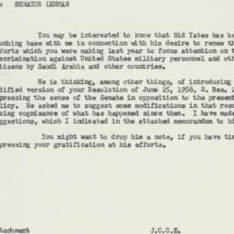 Memorandum : 1957 May 28