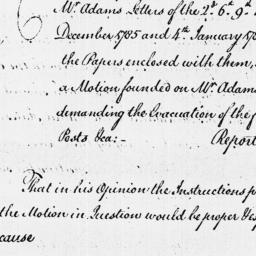 Document, 1786 March 30