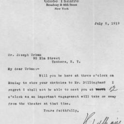 1 letter, 5 July 1919