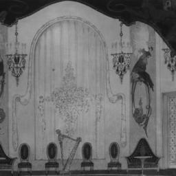 photo of set drawing, Olympia
