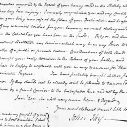 Document, 1781 March 26