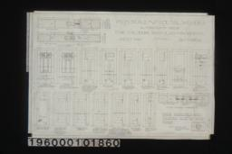 Inch scale and F.S. details of doors : Sheet no 10\,