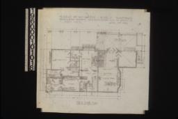 First floor plan :Sheet no. 3,