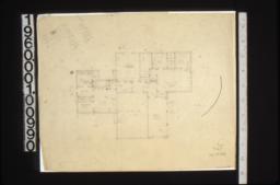 First floor plan\, scheme#11d.