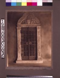 Detail of doorway in loggia.