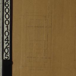 [Detail drawings of doors, ...