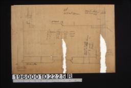 Unidentified detail sketches