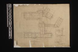 Foundation plan; details in sections; elevation of opening in cellar wall :Sheet no. 1.