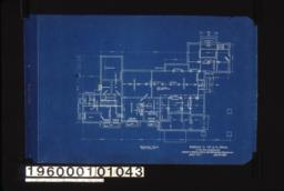 Basement plan : Sheet no. 1.