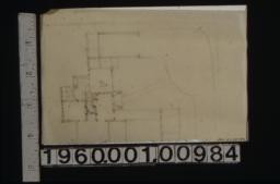 Sketch of first floor plan (2)
