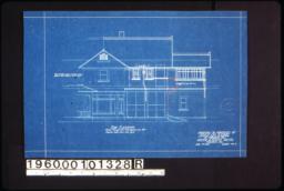 East elevation :Sheet no. 5. (2)