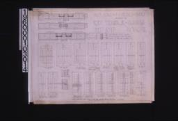 Inch scale and F.S. details of doors; Sheet no. 17\,