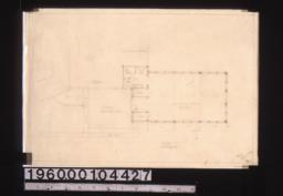 Additions -- floor plan :2,