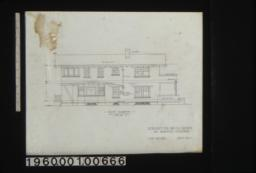South elevation : South elevation : Sheet no. 7.