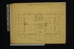 2nd floor plan : No. 3.