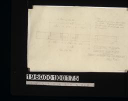 F.S. detail of sash for boorcase doors in den :Sheet # 14.
