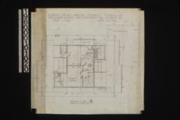 Second floor plan : Sheet no. 4,
