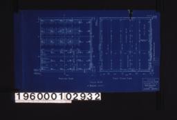 Footing plan, first floor plan :Sheet no. 1.