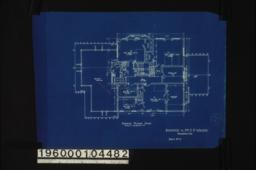 Second floor plan :Sheet no. 3. (2)