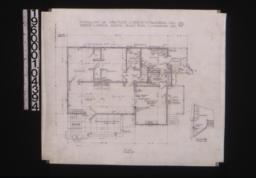 Main floor plan; section B-B :2.