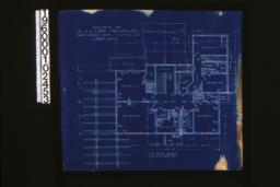 2nd floor plan : Sheet no. 3. (5)