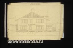 South elevation. (2)