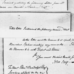 Document, 1795 February 05