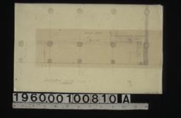 Partial mezzanine floor plan showing proposed change in staircase :No. 1\, 2.