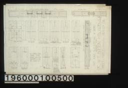 Inch scale and F.S. details of doors : Sheet no. 7\,