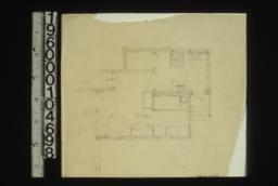 Plan of kitchen