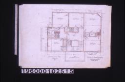 Second floor plan :No. 3.