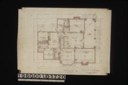 First floor plan :No. 2.