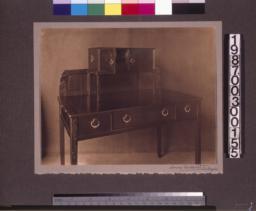 Rosewood writing desk designed by Charles Greene.