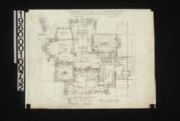 First floor plan\, detail of bay window :Sheet No. 2\,